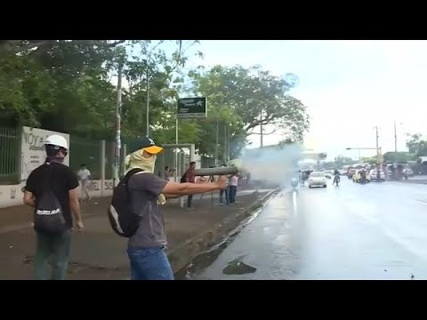 More violent clashes in Nicaragua