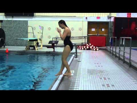 How To do a Standing Dive