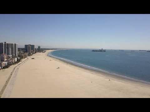 Mavic Pro no filter. Long Beach