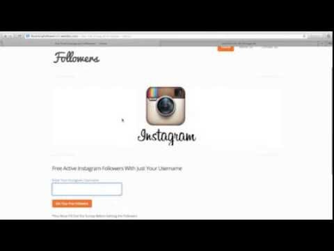 How to Get Free Instagram Followers - Instagram Followers - Free Instagram Followers