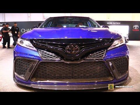 2018 Toyota Camry XSE Zero to 60 Design - Exterior Walkaround - Xpel Stand at 2017 SEMA Las Vegas