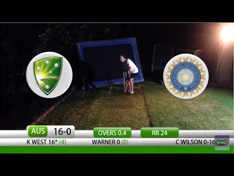 Backyard Cricket Australia vs India Day/Night Test