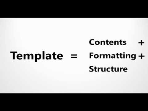 How-To: Create an Excel 2010 Template