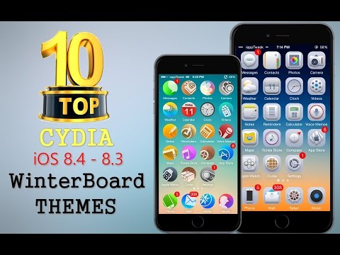 TOP 10 BRAND NEW Cydia WinterBoard Themes For iOS 8.4/8.3/8/7–TaiG/Pangu Jailbreak