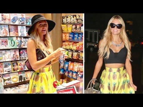 Paris Hilton Finally Catches Flight To Australia Following Passport Mishap