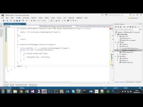 CRM 2013 - Convert Email HTML to Plain Text