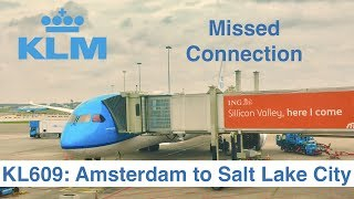 FLIGHT REPORT #2: Boeing 787-9 | KLM | Amsterdam - Salt Lake City