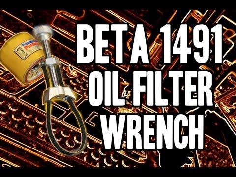 BETA 1491 Oil Filter Wrench - BETA Utensili