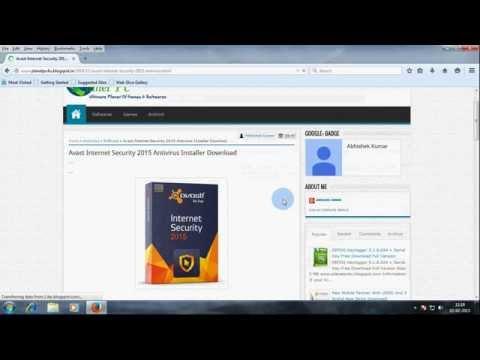 Avast Internet Security 2015 Antivirus Offline Installer Download