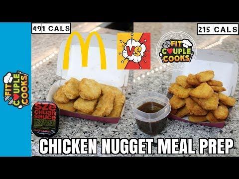 McDonald's Chicken Nuggets and Szechuan Sauce MEAL PREP