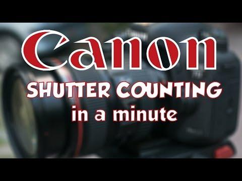 Canon DSLR Auslösungen auslesen [Shutter counting for Canon DSLR]