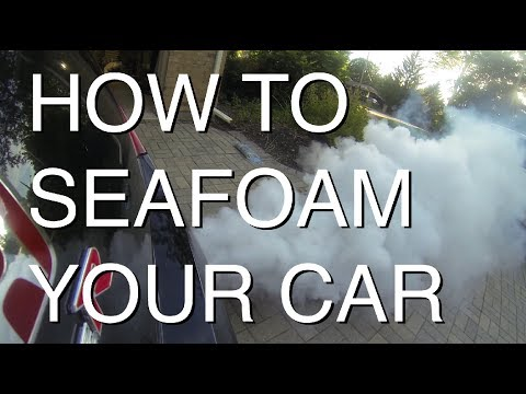 How to SeaFoam Your Car (LOTS OF SMOKE)