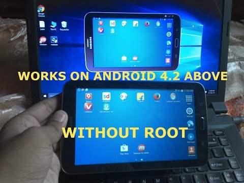 Control Android phone from PC With Mobizen 2017 | Without Root