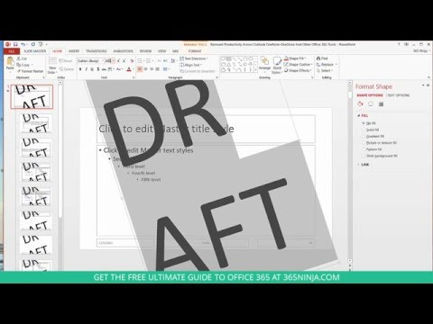 How to Add a Watermark to PowerPoint Presentations