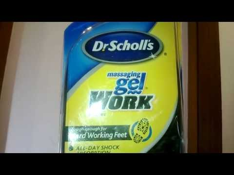 Myotcstore.com Review on Dr.Scholls Massaging Gel Work Insoles For Mens, Size 8-13 - 1 Pair
