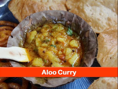 Easy veg Indian Lunch & Dinner recipes:Aloo sabzi for rice-roti/Potato curry recipe-letsbefoodie.com