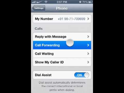 How to forward calls on iphone EASILY