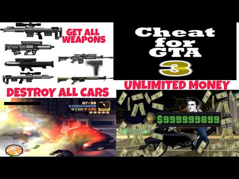 How To Use Cheats In GTA 3 On Android | 100 % Working ✔