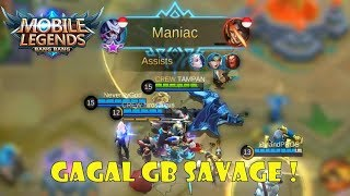 GAGAL GB SAVAGE BARENG SUBSCRIBERS HAHA ! - Mobile Legends Indonesia