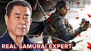 Real Samurai Expert Reviews Combat in Ghost Of Tsushima • Professionals Play