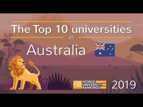 Meet Australia's Top 10 Universities 2019