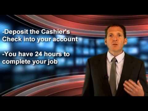 Warning! Fake Cashiers Checks