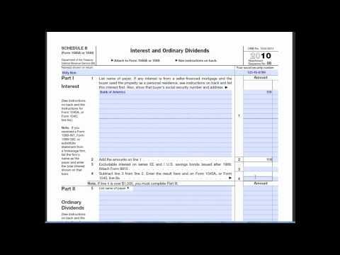 Schedule B (Form 1040)