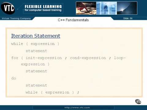 05  C++ Enums    25  Iteration Statements