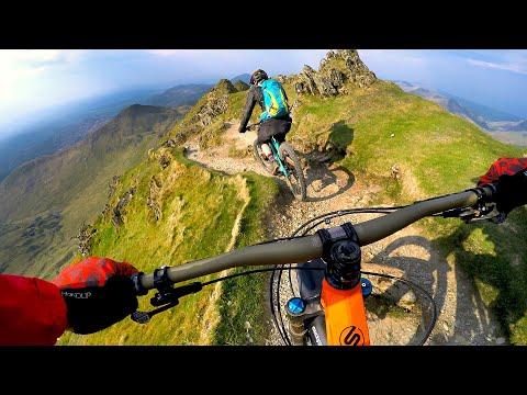 What are we getting into? | Mountain Biking Snowdon