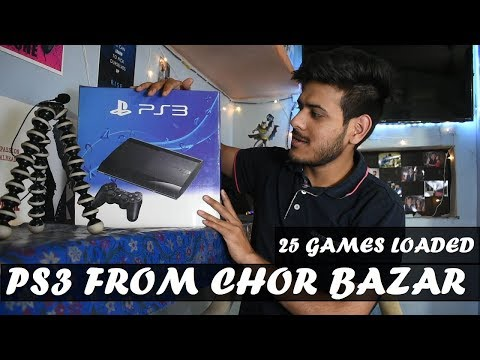 Sbse Sasta Ps3 Jailbreak With 25 Games Loaded Unboxing In 2018 |HINDI|