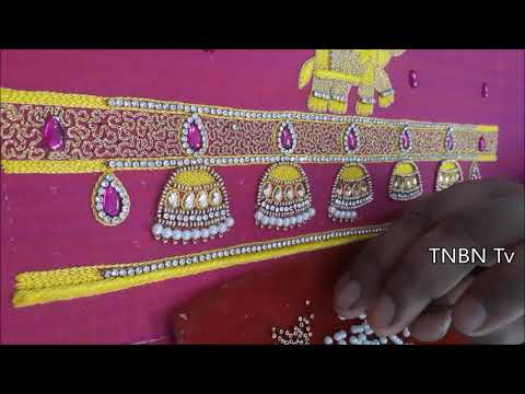 maggam work tutorial for beginners | blouse designs new | Blouse Designs Latest | TNBN Tv Live