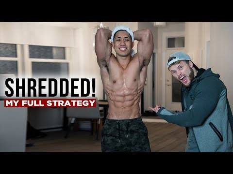 My Full Coaching Strategy for Getting Him SHREDDED (Diet, Cardio, Training) |  Back & Abs Workout
