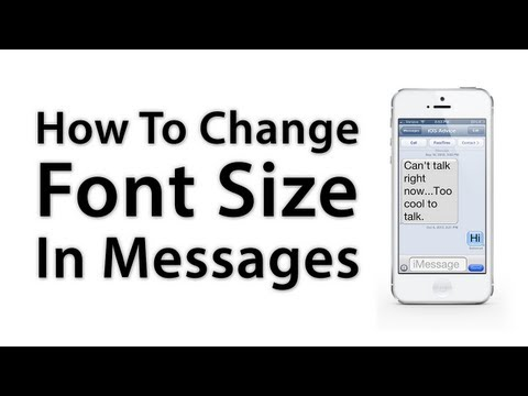 [iOS Advice] How To Change The Font Size On iPhone / iPad Native iOS Apps