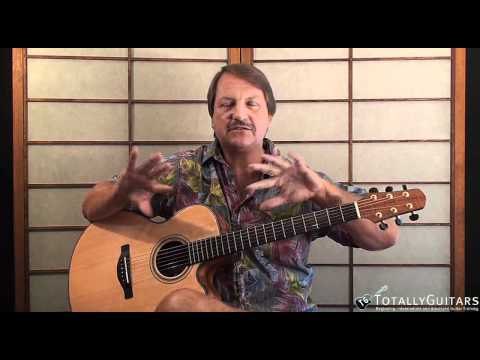 Black Water Acoustic Guitar Lesson - Doobie Brothers