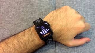 03d64761fcba83 Apple Watch Nike+ Space Gray Unboxing