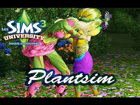 Sims 3 University Plantsim