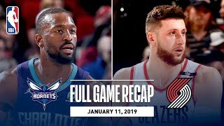 Download Full Game Recap: Hornets vs Trail Blazers | Block Party At The Moda Center Video
