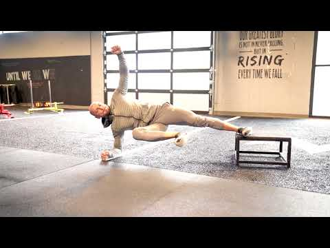 Advanced Side Plank - The Copenhagen Plank (Groin Injury Prevention)
