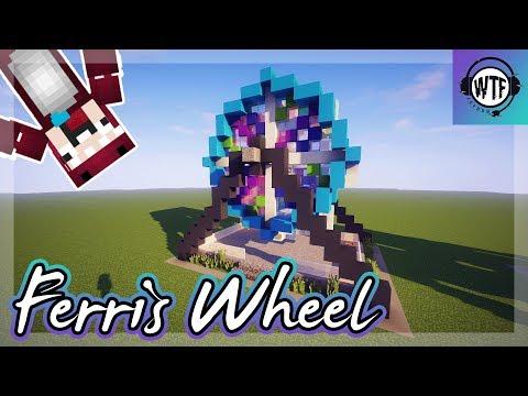 How To Build: Minecraft Ferris Wheel || Let's Build