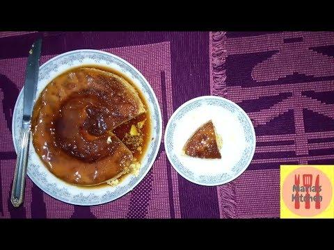 Caramel Egg Pudding on Rice Cooker, How To Prepare Caramel Egg Pudding   Dessert Recipe