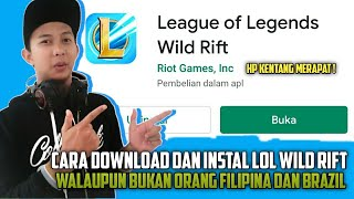 CARA DOWNLOAD DAN INSTAL LEAGUE OF LEGENDS MOBILE !