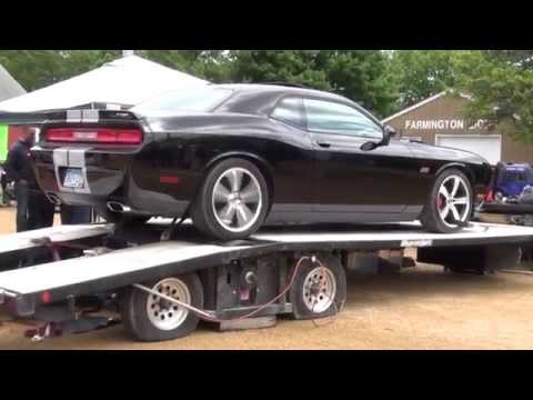 Dodge Challenger 392 On The Dyno