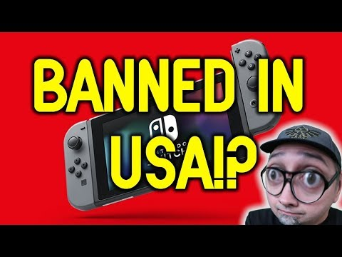Nintendo Switch Being Investigated By The US Government!