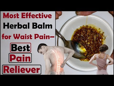 Most Effective Herbal Balm for Waist Pain – Best Pain Reliever