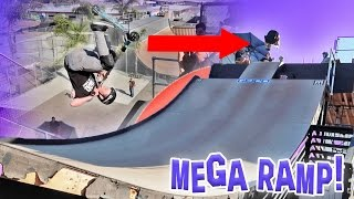 INSANE MEGA RAMP TRICKS!