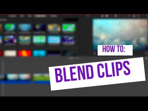 How to Blend Two Clips (iMovie Tutorial)