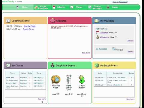 Chores Tracker and Organization Tools by DoughMain.com