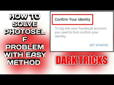 How To Solve Photoself Problem With #Easy Method