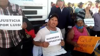 Denuncian la desaparición de Luis Armando Espinoza