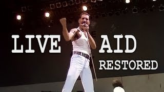 Queen - Live Aid 1985 (Definitive Restoration)